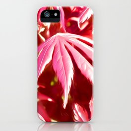 Japanse Maple iPhone Case