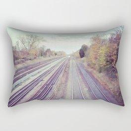 Mystery train. Rectangular Pillow