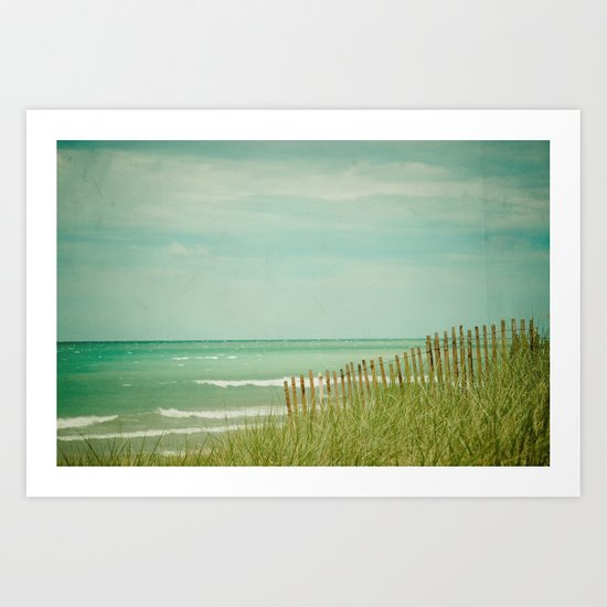 Sea Shore Art Print