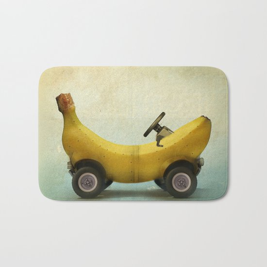 Banana Buggy Bath Mat