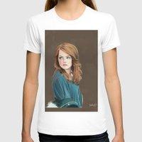 emma stone T-shirts featuring Emma Stone by Artsy Rosebud