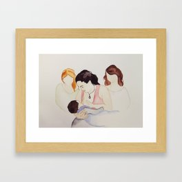 The Gift of Milk. The Gift of Sisterhood  Framed Art Print