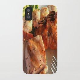 Seafood Trio iPhone Case