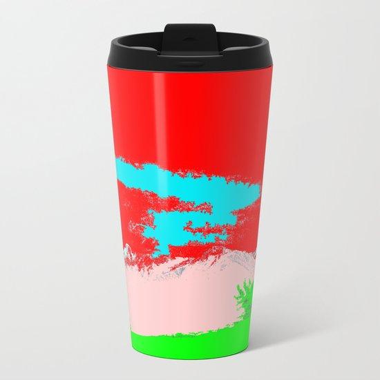 Ice Cream Mountain Metal Travel Mug