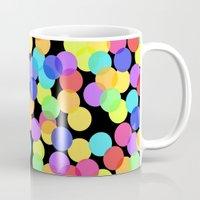 confetti Mugs featuring Confetti by The Wellington Boot