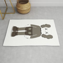 KAWS COMPANION - BROWN Rug