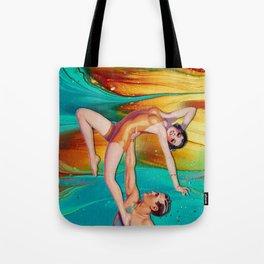 MARBLING SHOW Tote Bag