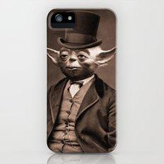 Portrait of Sir Yoda Slim Case iPhone SE