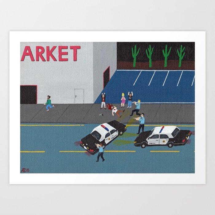 The Arket Incident Art Print