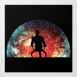 Illusive man ( Mass Effect ) Canvas Print
