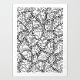 Courtyard Art Print