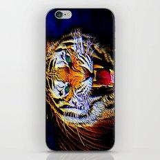 Fearless Tiger 2 iPhone & iPod Skin