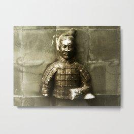 Terracotta Warrior Metal Print