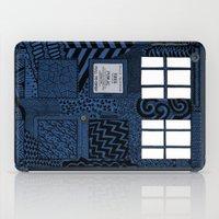 tardis iPad Cases featuring Tardis by Rebecca Bear