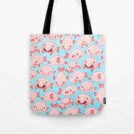 Blobfish Pattern Tote Bag