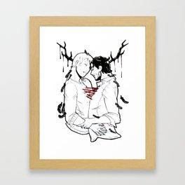 Goretober #31 - Metaphysical Framed Art Print