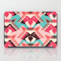 yetiland iPad Cases featuring Raccoons and hearts by Yetiland