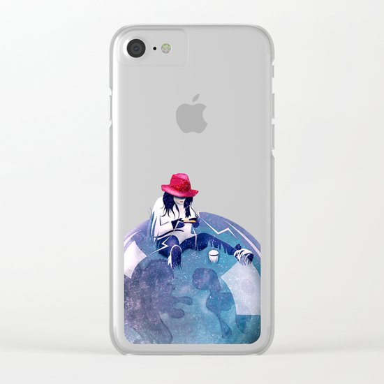 Nature Calling Clear iPhone Case