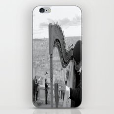 His Music Floats Down to Paris iPhone & iPod Skin
