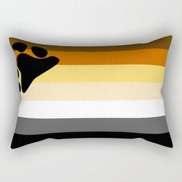 Gay Bear Brotherhood Flag Rectangular Pillow