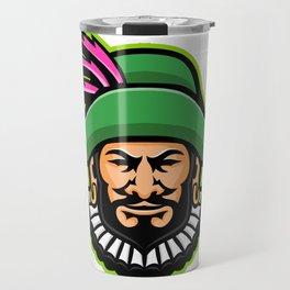 Minstrel Mascot Travel Mug