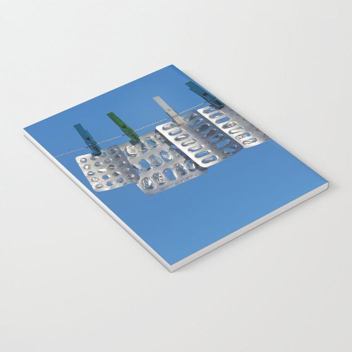 Blister packs concept Notebook
