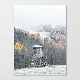 Tree Stand Canvas Print