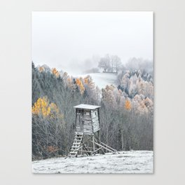 Tree Stand Canvas Print