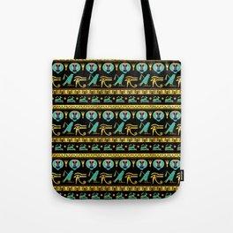 Egyptian  Ornament Symbols Pattern Tote Bag