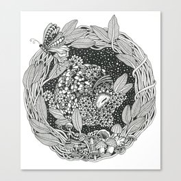 Pangolin's Dream Canvas Print