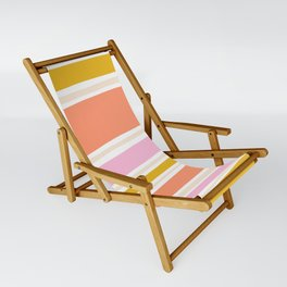 del mar, 70's stripes Sling Chair