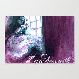 LA TRAVIATA - VERDI - OPERA Canvas Print