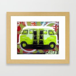 Van Framed Art Print