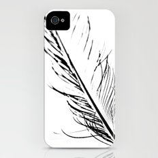 Peacock Feather 4 iPhone (4, 4s) Slim Case