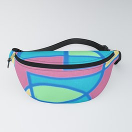 Roads and Roundabouts Fanny Pack