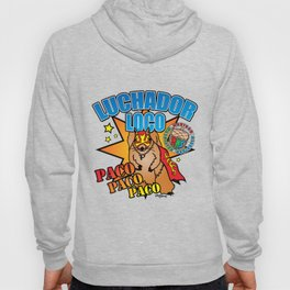 Mexican Wrestling Squirrel Paco Hoody
