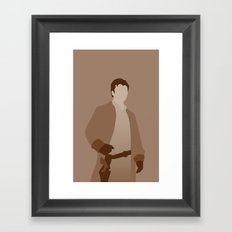 Captain Mal Reynolds, Firefly Serenity Framed Art Print