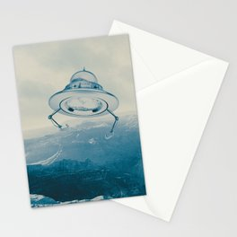 UFO III Stationery Cards