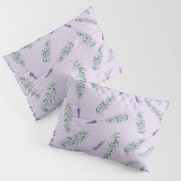 Lavender, Illustration Pillow Sham