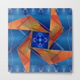 In The Deep Blue Sea Metal Print