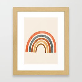 Abstract Rainbow 88 Framed Art Print