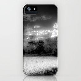 Monochrome Farm iPhone Case