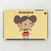 jamaica iPad Cases featuring Jamaica by Cat in the Box