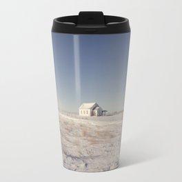 Winter, Galpin Church, Montana 3 Travel Mug