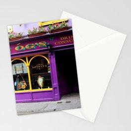 Colorful Irish Pub Stationery Cards
