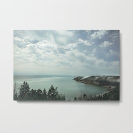 The Rolling Fog of the Bay of Fundy Metal Print