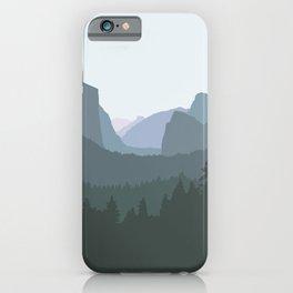 Yosemite National Park - Modern Layers iPhone Case