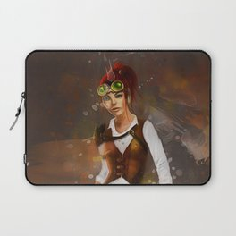 Cowgirl Steampunk Laptop Sleeve