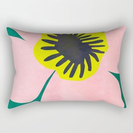 Pink Bloom No 01 Rectangular Pillow