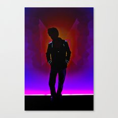 The Backlit Kid Canvas Print